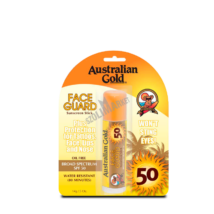 AUSTRALIAN GOLD SPF 50 FACE GUARD SUNSCREEN STICK napvédő arcstift 14g