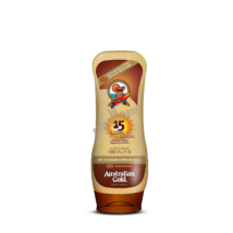AUSTRALIAN GOLD SPF 15 LOTION SUNSCREEN WITH INSTANT BRONZER bronzosító napvédő krém 237ml