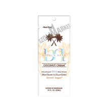 BROWN SUGAR DOUBLE DARK COCONUT CREAM 400X bronzosító szoláriumkrém 22 ml