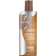 DEVOTED CREATIONS WHITE 2 BLACK NATURAL természetes bronzosító szoláriumkrém  251ml