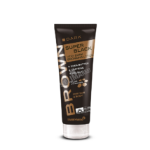 TANNYMAXX BROWN SUPERBLACK VERY DARK BRONZING bronzosító szoláriumkrém 125ml