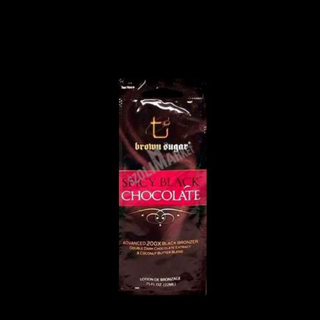 BROWN SUGAR SPICY BLACK CHOCOLATE csípős bronzosító szoláriumkrém 22ml