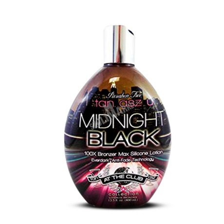 TAN ASZ U MIDNIGHT BLACK bronzosító szoláriumkrém 400ml
