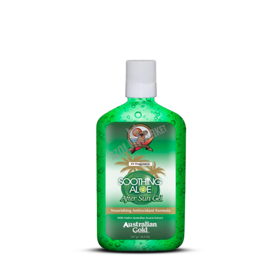 AUSTRALIAN GOLD SOOTHING ALOE AFTER SUN GEL napozás utáni zselé 524ml