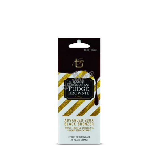 BROWN SUGAR BLACK CHOCOLATE FUDGE BROWNIE bronzosító szoláriumkrém 22ml