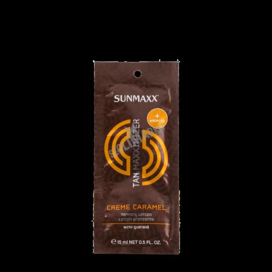 SUNMAXX CREME CARAMEL W/BRONZER bronzosító szoláriumkrém 15ml