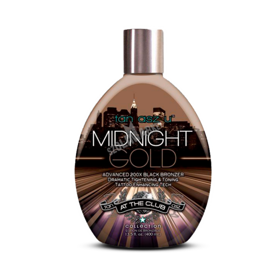TAN ASZ U MIDNIGHT GOLD bronzosító szoláriumkrém 400ml